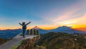 Mirador en Guatemala