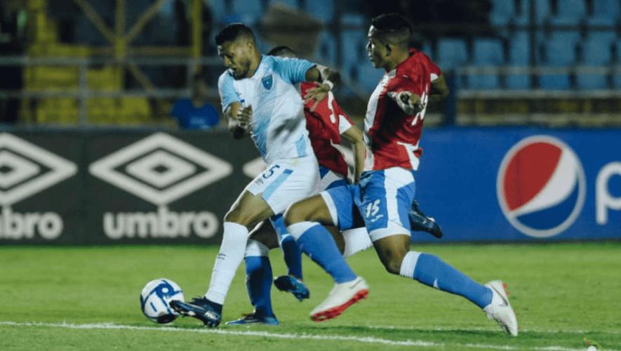 Partido amistoso Guatemala vs. Puerto Rico en el Estadio Doroteo Guamuch | Enero 2021