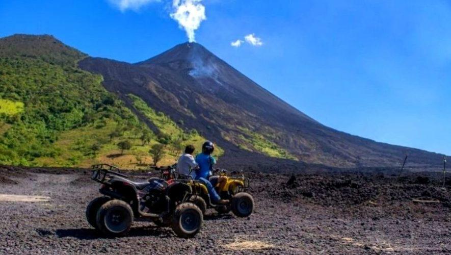 Recorrido en cuatrimoto por las faldas del volcán Pacaya | Enero 2021