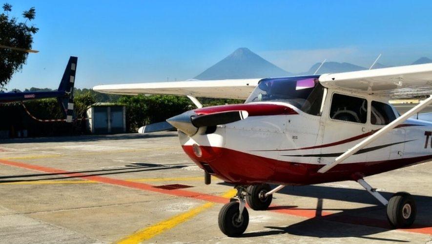 Vuelo de prueba en una avioneta en Guatemala   Febrero 2021