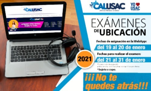 fechas-para-examenes-ubicacion-calusac-enero-2021-proceso-asignacion-como-hacerlo