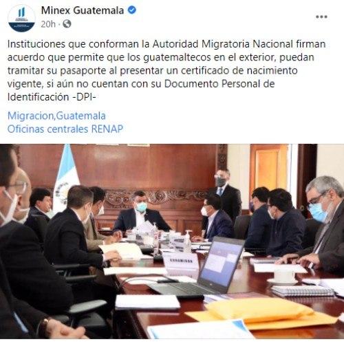 guatemaltecos-extranjero-podran-obtener-pasaporte-si-no-poseen-dpi-minex-guatemala