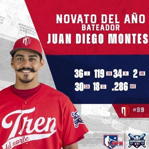 juan-diego-montes-elegido-como-novato-ano-liga-beisbol-profesional-nicaragua-lbpn-nacional