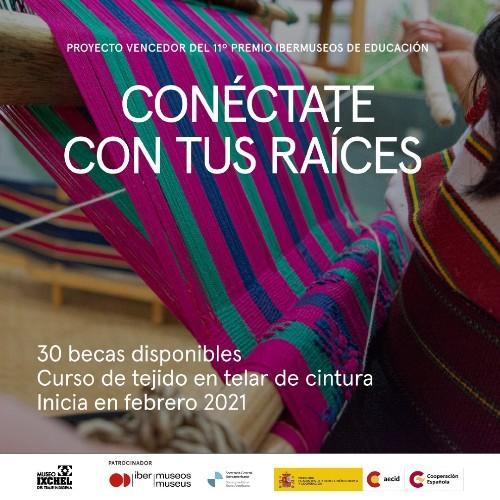 museo-ixchel-traje-indigena-ofrece-becas-ninos-adultos-para-curso-tejido-telar-cintura-febrero-2021
