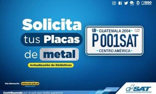 sat-guatemala-actualizacion-placas-metal-tres-regiones-guatemala-solicitar-entrega-metalicas
