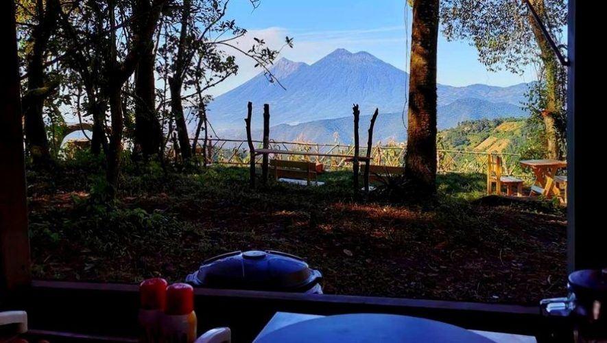Camping en una reserva ecológica en San Bartolomé Milpas Altas | 2021