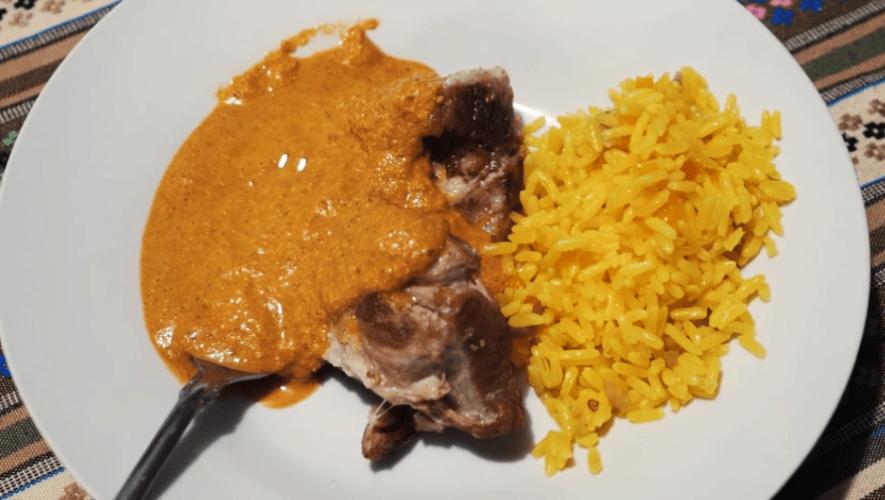 Chok'a, el recado que forma parte de la comida típica de Almolonga, Quetzaltenango