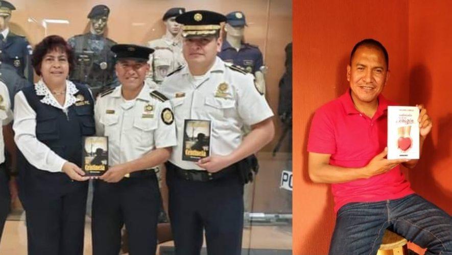 Faustino Rodríguez, el policía guatemalteco que escribe libros para ayudar a niños del interior