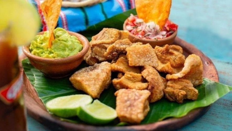 Festival gastronómico al aire libre en Carretera a El Salvador | Febrero 2021