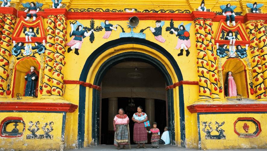Iglesia de San Andrés Xecul es una de las más bonitas del mundo, según Condé Nast Traveler