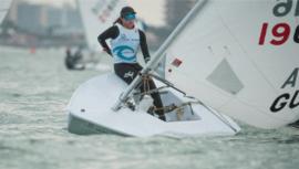 Isabella Maegli terminó entre las 6 mejores de la fecha 3 del US Open Sailing Series 2021