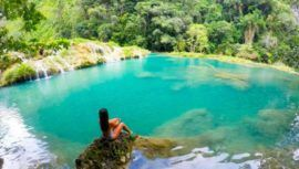 Semuc Champey es uno de los encantos de Guatemala, según medio colombiano