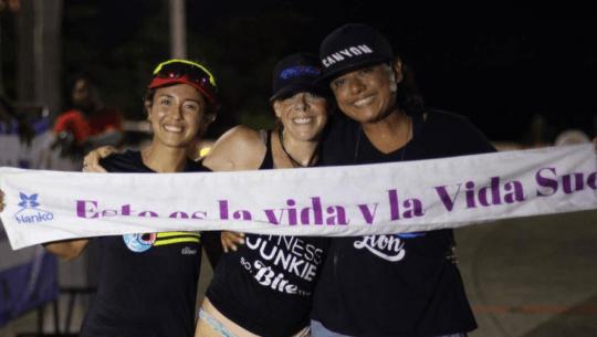 Michelle Echeverría ganó el primer lugar del Ultra La Isla 520 2021 en Cozumel