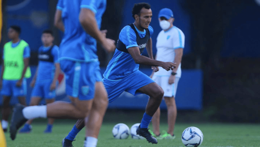 Primera convocatoria de la selección de fútbol de Guatemala para febrero 2021