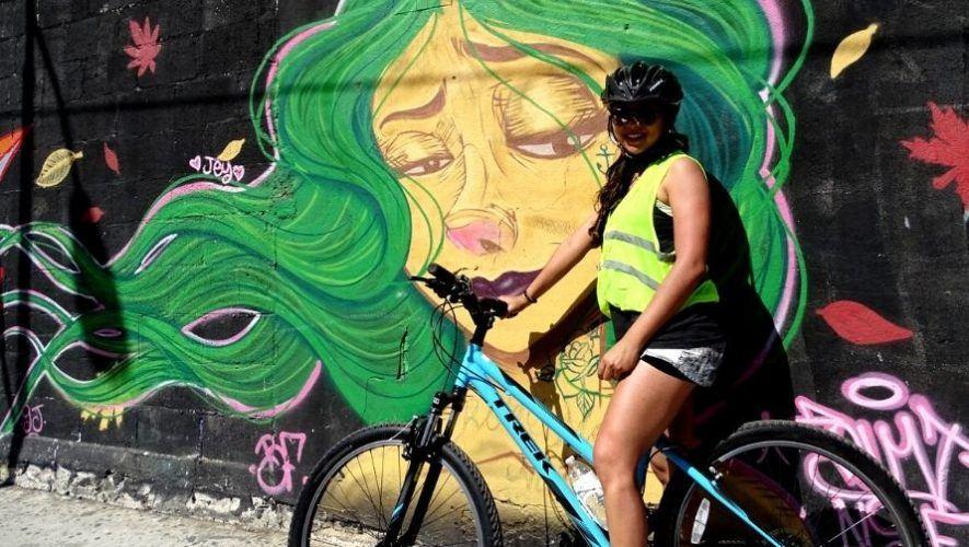 Tour en bicicleta por los murales y graffitis de la ciudad   Marzo 2021