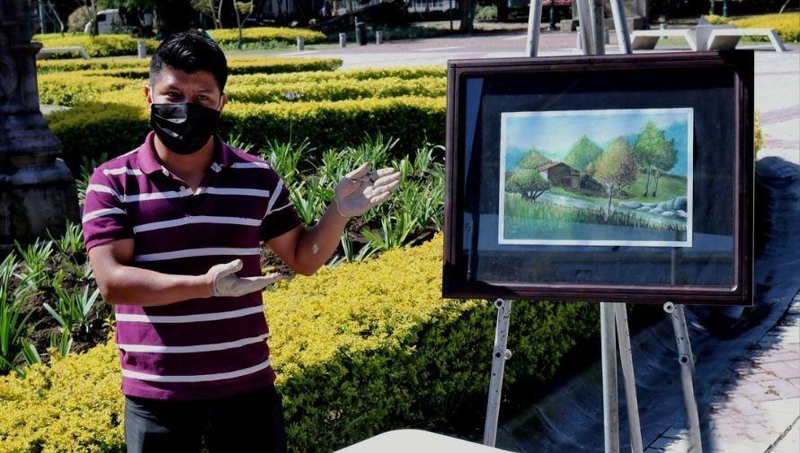 Ventanas Artísticas, exposición al aire libre de artistas guatemaltecos Febrero - Marzo 2021 (1)
