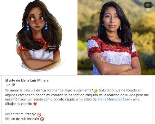 artista-quetzalteca-elena-minera-ilustro-maria-mercedes-coroy-estilo-disney-la-llorona-jayro-bustamante
