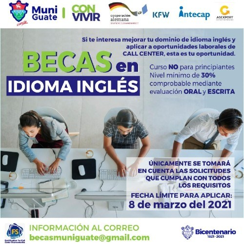 becas-ingles-capacitacion-call-center-certificadas-intecap