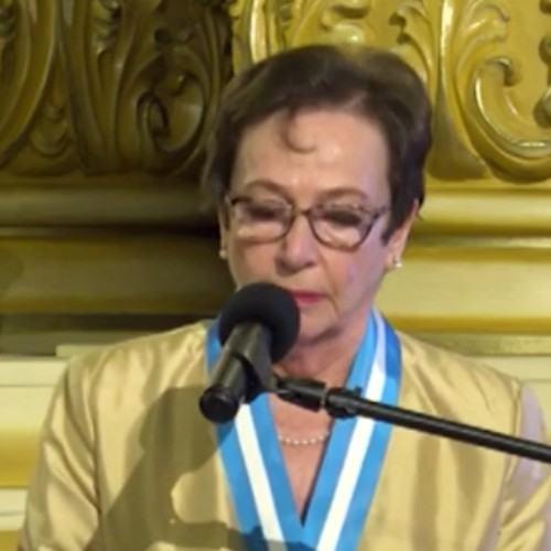 guatemaltecos-fueron-galardonados-con-la-orden-nacional-del-patrimonio-cultural-2021 Ana María Urruela de Quezada