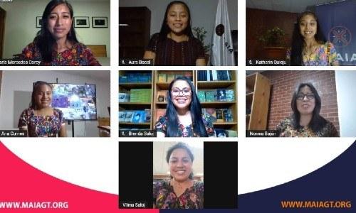 maria-mercedes-coroy-compartio-jovenes-pioneras-asociacion-maia casting ixcanul jayro bustamante