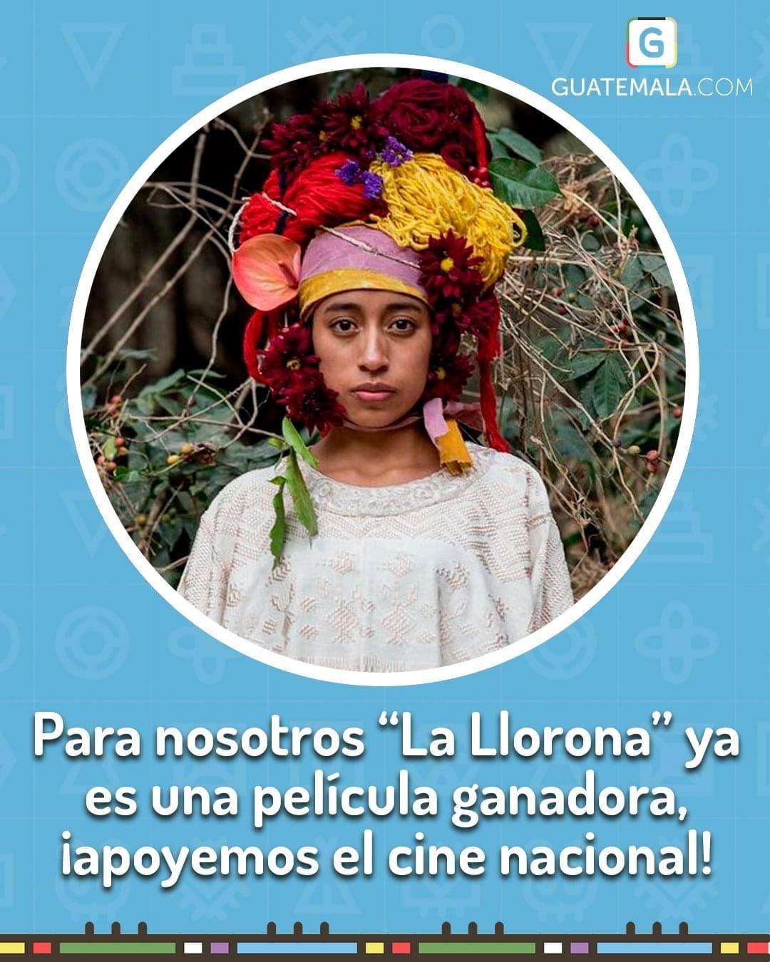 La Llorona recibe apoyo por guatemaltecos