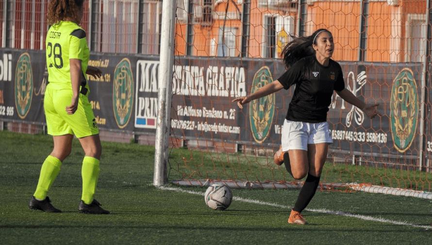 Ana Lucía Martínez anotó su tercer doblete consecutivo en la Serie B de Italia