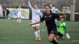 Ana Lucia Martínez dio una asistencia en la victoria del Roma CF contra Tavagnacco