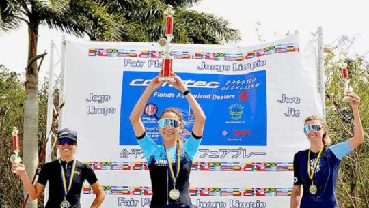 Anahí Amado destacó en Estados Unidos al ganar la carrera Corratec Classic 2021