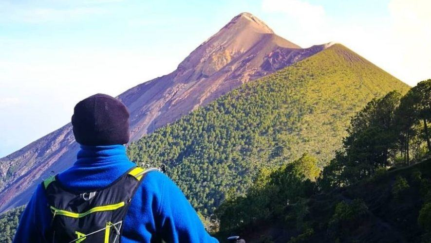 Carrera 21k en el Volcán de Fuego   Abril 2021