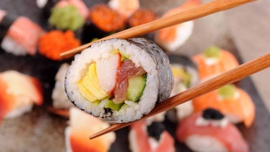 Clase gratuita para aprender a preparar sushi | Marzo 2021