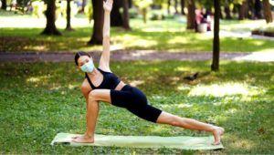 Clases gratuitas de yoga al aire libre en la Zona 11 | 2021