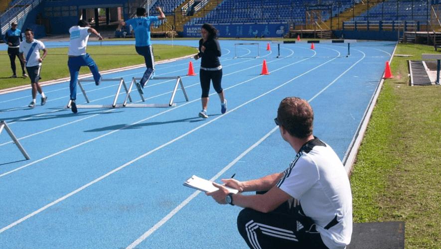 Convocatoria a guatemaltecos para curso de entrenadores de atletismo en Federación Alemana