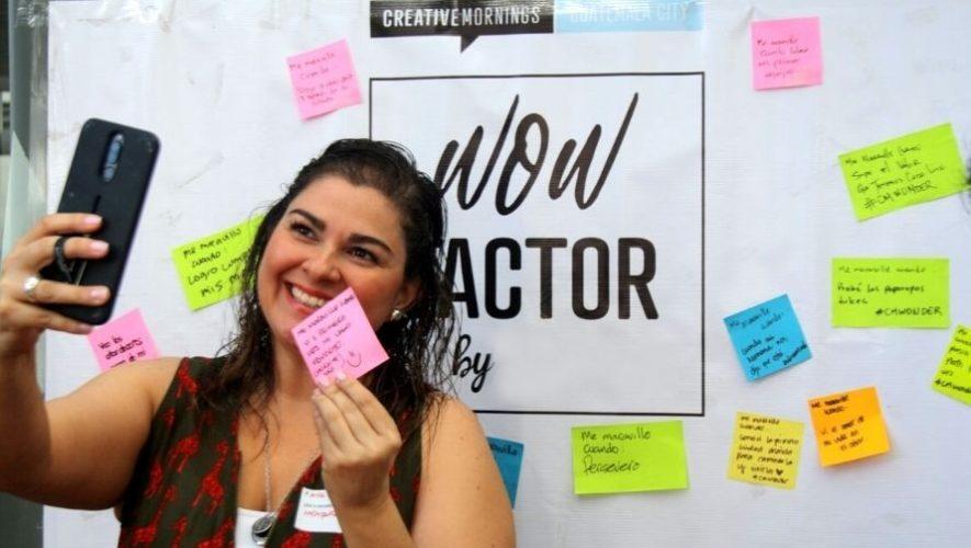 Creative Mornings, taller gratuito de creatividad e innovación | Marzo 2021