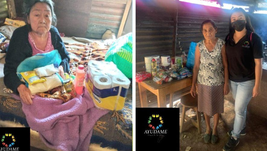 El voluntariado _Ayúdame Guatemala_ busca donativos para ayudar a abuelitos de Pueblo Nuevo Viñas