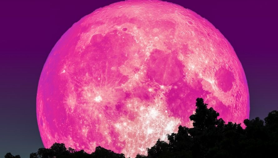 Fecha de la Luna Rosa de abril, o superluna, en Guatemala Abril 2021 (2)