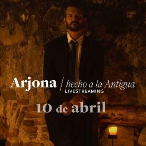 Hecho a la Antigua, concierto virtual de Ricardo Arjona desde Antigua Guatemala | Abril 2021 | Guatemala.com