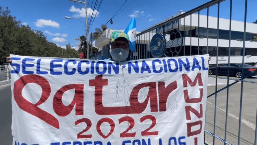 Felipe Flores, el aficionado que mostró su pasión a la selección de Guatemala