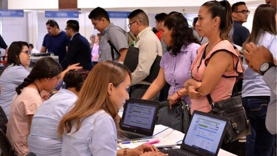 Feria de empleo virtual de la Municipalidad de Guatemala   Marzo 2021
