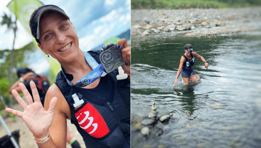 Gabriela Molina ganó segundo lugar en la carrera The Coastal Challenge 2021 en Costa Rica