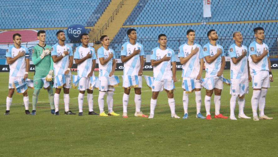 Guatemala debutó con victoria sobre Cuba en las Eliminatorias al Mundial de Qatar 2022