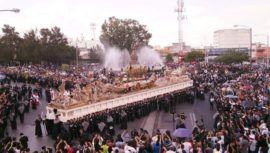 Guatemala tiene la procesión con el anda más grande del mundo
