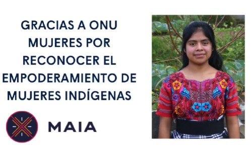 Guatemaltecaparticipó en conversatorio de ONU Mujeres Guatemala, marzo 2021