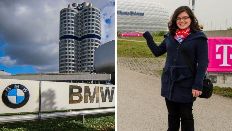 Juana Rivera, la ingeniera guatemalteca que trabajará en la BMW de Alemania (1)