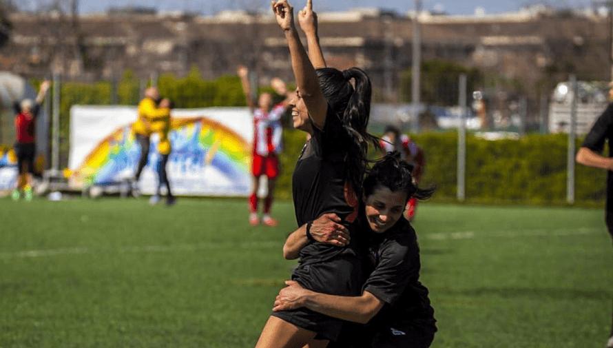 Los goles anotados Ana Lucia Martínez en el Roma Calcio Femminile de Italia