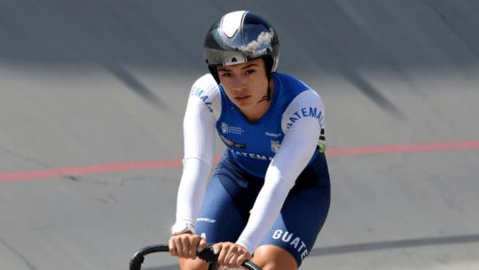 Nicole Rodríguez ganó plata en evento masculino de la 1a. Parada Nacional de Pista 2021