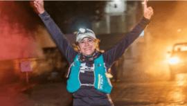 Nury Villanueva corrió travesía de 150 km de Santa Cruz Barillas a Huehuetenango