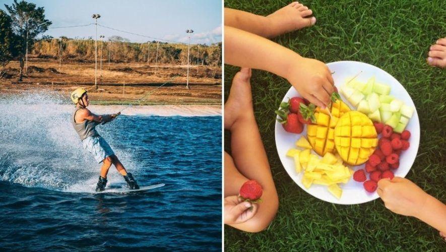 Picnic de verano en Laguna Wake Park   Marzo 2021