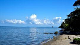 Playas de arena blanca en Guatemala