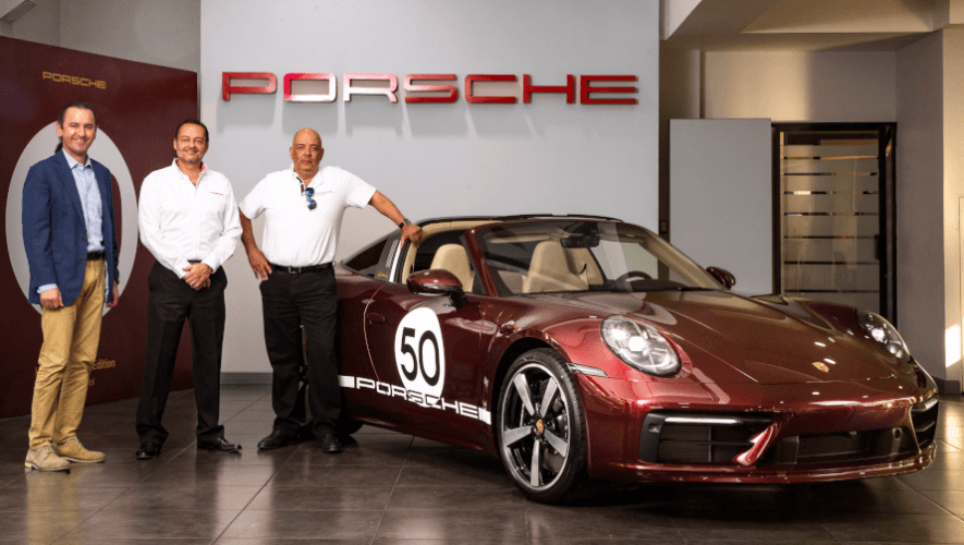 Porsche 911 Targa 4S Heritage Design llegó a Guatemala