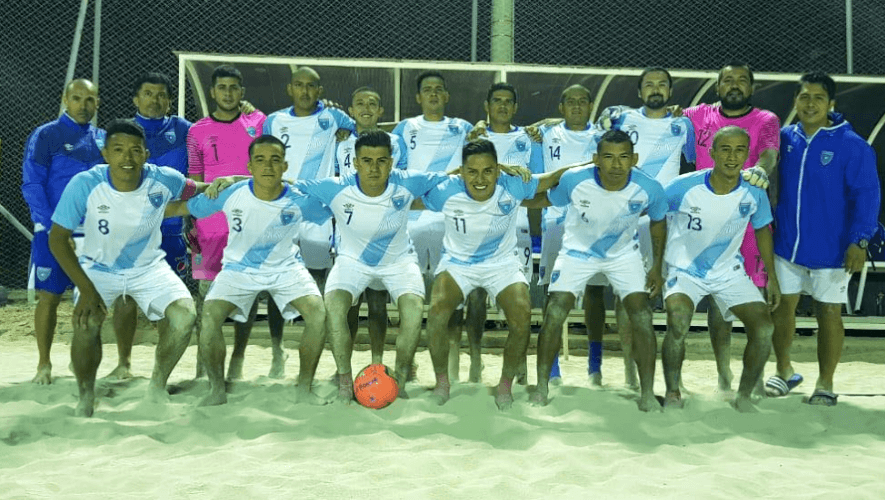Rivales de selección de fútbol playa de Guatemala en el Premundial de Concacaf 2021
